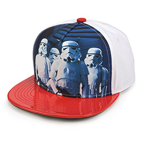 Star Wars Stormtroopers Movie Adult Adjustable Snapback Flat Bill Baseball Hat