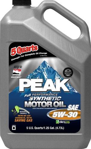 Peak p3ms55 5w30 synthetic motor oil 5 quart jug case for Peak synthetic motor oil review