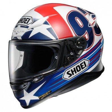 Nouveau casque de moto Shoei NXR Marquez Indy