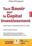 echange, troc Gilles Mougenot - Tout Savoir Sur le Capital Investissement