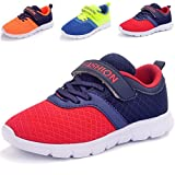 DADAWEN New Boys & Girls Casual Easy On Light Weight Sneakers Running Shoes(Toddler/Little Kid/Big Kid)
