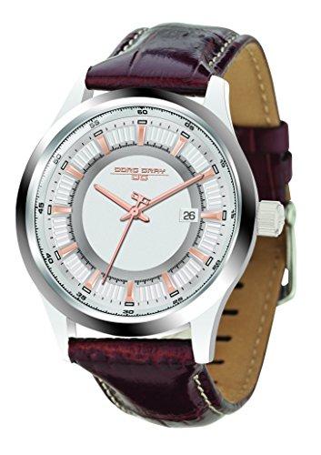 Jorg Gray JG6800-12 - Reloj de pulsera hombre, piel, color marrón