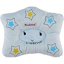 WonderKart Star Shape Feeding & Nursing Baby Neck Pillow - Blue Star