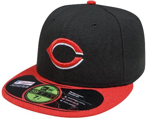 MLB Cincinnati Reds Alternate AC On Field 59Fifty Fitted Cap