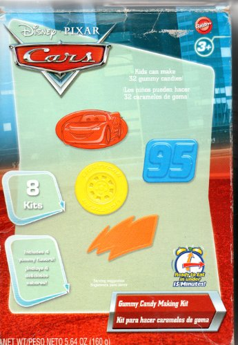 Disney Pixar Cars Gummy Making Kit