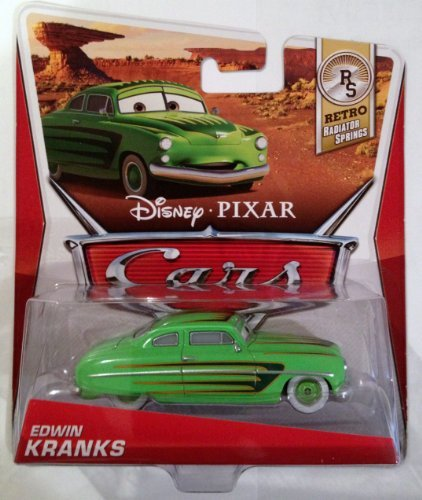 Disney / Pixar CARS MAINLINE 1:55 Die Cast Car Edwin Kranks [Retro Radiator Springs 7/8]