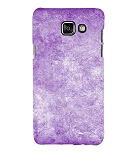 Purple Texture 3D Hard Polycarbonate Designer Back Case Cover for Samsung Galaxy A3 (2016) :: Samsung Galaxy A3 2016 Duos :: Samsung Galaxy A3 2016 A310F A310M A310Y :: Samsung Galaxy A3 A310 2016 Edition