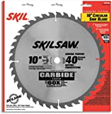 SKIL 75140 10-Inch 40 Tooth ATB General Purpose Saw Blade with 5/8-Inch Arbor