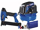 Campbell Hausfeld FP202899AV 1 Gallon Tank Mounted Air Compressor with 2 in 1 Nailer