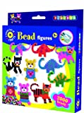 Playbox Dinosaur Bear and Cat Bead Set (2000 Beads)