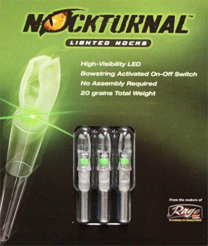Nockturnal Lighted Arrow Nock G Model 3/Pkg Green