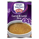 Heinz Weight Watchers Carrot and Lentil Soup 295 g (Pack of 12)
