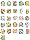 OESD C&C Treasure Chest of Embroidery Machine 104 Designs Volume 6 CD ALPHABETS