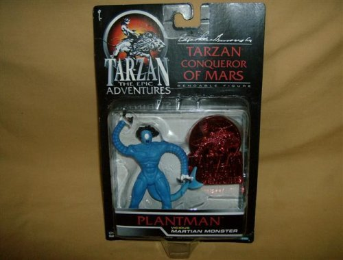 Tarzan-The Epic Adventures-Tarzan Conqueror of Mars-Plantman Vicious Martian Monster-1995 - 1