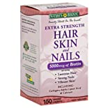 Nature's Bounty Hair Skin a Nails, Extra Strength, Coated Caplets 150 caplets