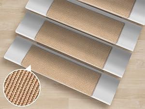 15 st ck pure nature sisal stufenmatten spar set. Black Bedroom Furniture Sets. Home Design Ideas
