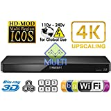 PANASONIC 360 2K/4K Smart Network Multi System Blu Ray Disc DVD Player 100~240V 50/60Hz for World-Wide Use - 6 Feet HDMI Cable is included