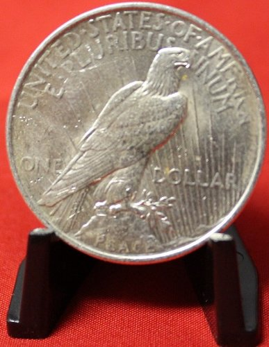 1924 No Mint Mark Peace Dollar Seller Au50
