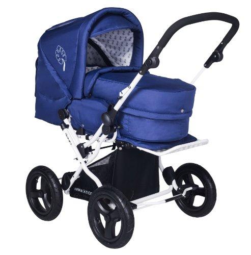 preisvergleich und test knorr baby 705010 kombi kinderwagen nizza relax blau. Black Bedroom Furniture Sets. Home Design Ideas