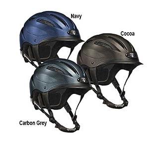 Tipperary Sportage Equestrian Sport Helmet, X-Small, Carbon Gray
