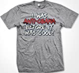 I was Anti-Obama Before It Was Cool, Mens T-shirt, Anti Barack Obama Funny Trendy Political Men's Shirt, X-Large, Lt-Gray