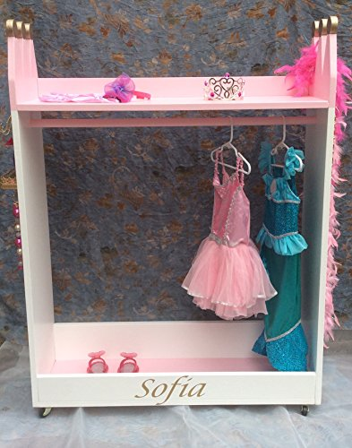 Mobile Princess Dress Up Storage