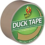 Duck Brand 1303155 Color Duct Tape, Beige, 1.88 Inches x 20 Yards, Single Roll