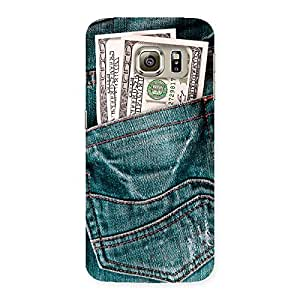 The Awesome Money Jeans Back Case Cover for Samsung Galaxy S6 Edge Plus