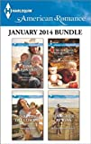 img - for Harlequin American Romance January 2014 Bundle: Her Callahan Family Man\Marrying the Cowboy\The Surprise Holiday Dad\Rancher at Risk book / textbook / text book