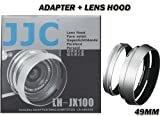JJC LH-JX100 Lens Hood/Adapter Ring