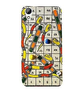 Vykuntapali Design Cute Fashion 3D Hard Polycarbonate Designer Back Case Cover for HTC Desire 728 Dual Sim :: HTC Desire 728G Dual Sim