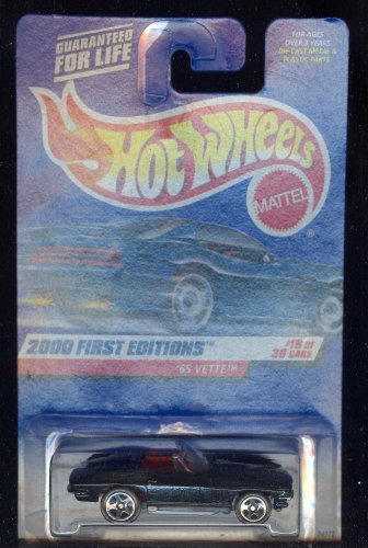 Hot Wheels 2000-079 '65 Vette 18 of 36 1965 First Edition 1:64 Scale
