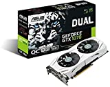 Asus Dual GeForce GTX1070-O8G (PCIe 3.0, 8GB GDDR5 Speicher, HDMI, DVI, Displayport)