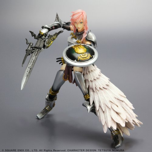 Final Fantasy XIII-2 : Lightning Play Arts Kai Action Figure