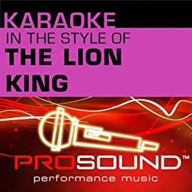 Hakuna Matata (Karaoke Instrumental Track)[In the style of Lion King]