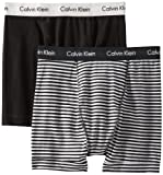 Calvin Klein Men's Stretch 2 Pack Boxer Brief Set