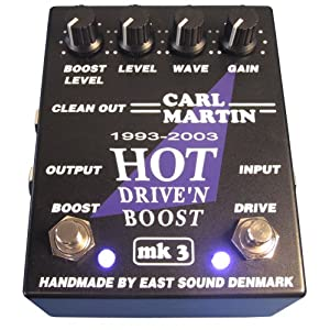 Carl Martin Hot Drive and Boost MKIII Pedal