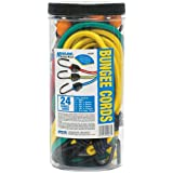 Highland 90084 Bungee Cord Assortment - 24 Piece