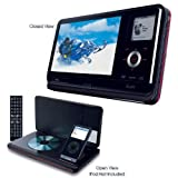 iLuv I1155 8.4 Inch Portable Multimedia DVD Player For iPod Classic/4th/3rd Gen Nanoby iLuv