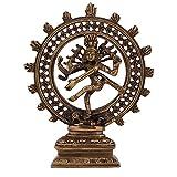 Crafts'man Handmade Natraj Brass Sculpture Religious Home Decorative