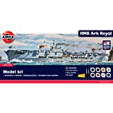 Airfix A50070 Royal Navy HMS Ark Royal 1:600 Scale Plastic Model Gift Set