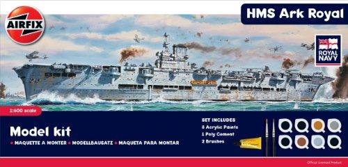 Airfix 1:600 HMS Ark Royal Gift Set