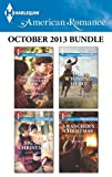 img - for Harlequin American Romance October 2013 Bundle: Twins Under the Christmas Tree\Big Sky Christmas\Her Wyoming Hero\A Rancher's Christmas book / textbook / text book