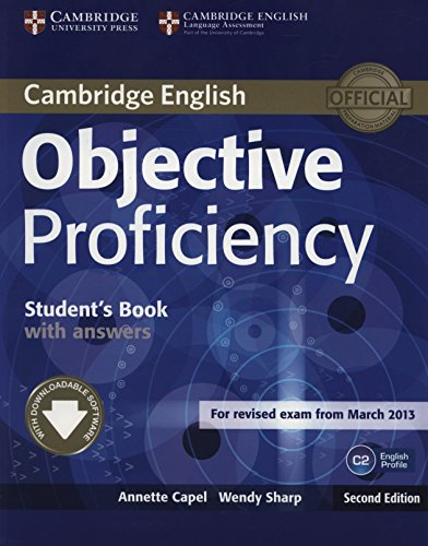 objective proficiency students book with answers free download