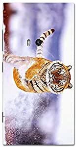 Timpax protective Armor Hard Bumper Back Case Cover. Multicolor printed on 3 Dimensional case with latest & finest graphic design art. Compatible with Nokia Lumia 920 Design No : TDZ-28202