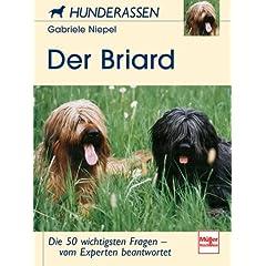 Der Briard. Hunderassen.
