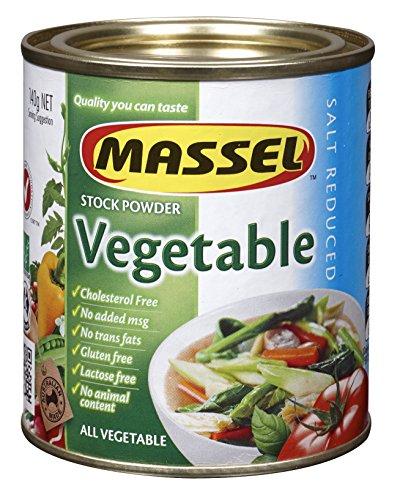 Massel Gluten-Free, Salt Reduced All Purpose Bouillon & Seasoning Granules, Vegetable