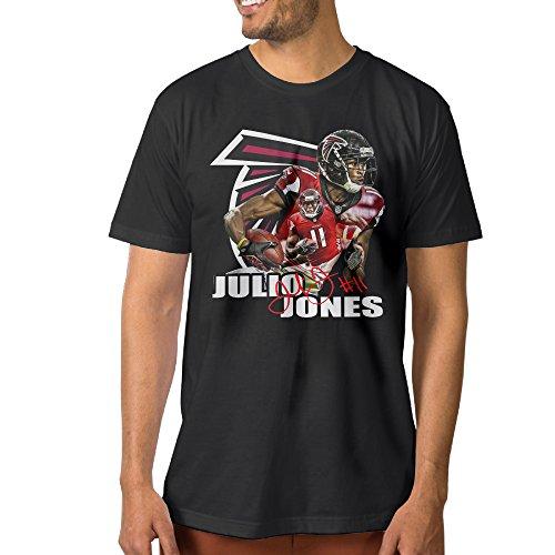 Show Time Men's Julio Falcons Jones #11 Short Sleeve Funny T-shirt Black M (Xbox 360 Ventilation compare prices)