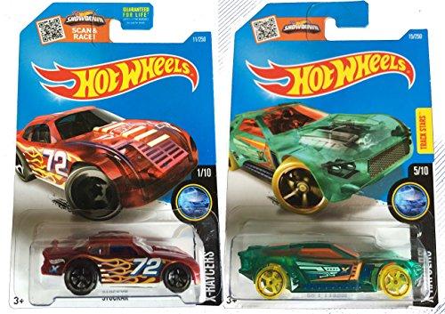 Hot Wheels 2016 X-Raycers Bullet Proof & Stockar 2-Car Set Bundle (Silver Bullet Hot Wheels compare prices)