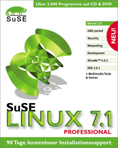 SuSE Linux 7.1 Professional. 7 CD- ROM. 1 DVD-ROM.